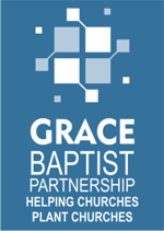 The logo of Grace Baptist Partnership